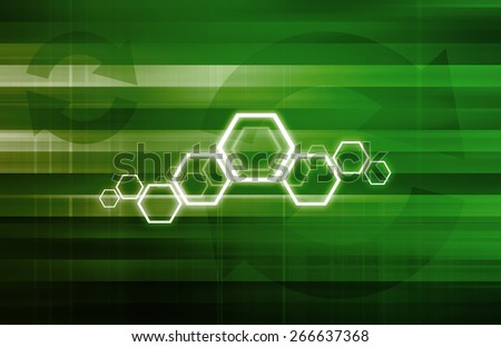 Routing Information Protocol and Technology Setup Abstract - stock photo