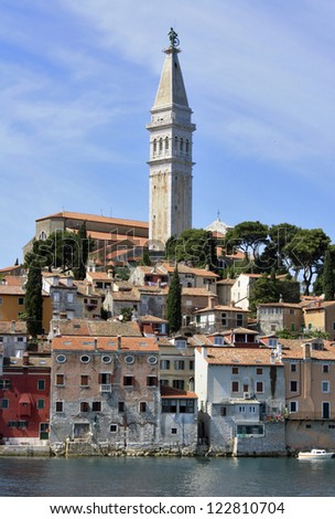 Rovinj. view from the sea