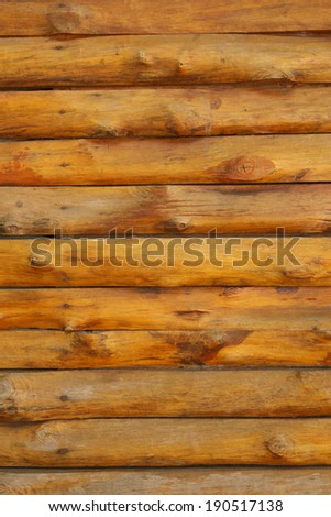 row of old wood plank background - stock photo