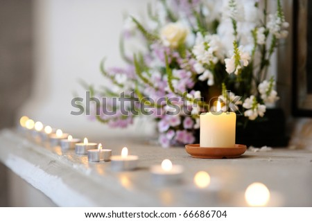 Purple candle Stock Photos, Purple candle Stock Photography ...