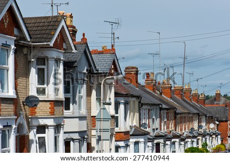 Row houses stock images royalty free images vectors for English terrace
