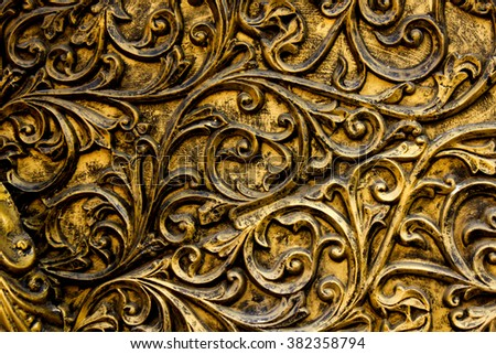 Royal Background in antique appearance - stock photo