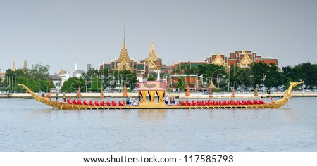 Royal Barge Procession