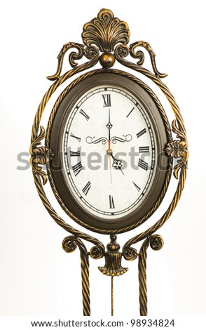 Royal clock - stock photo