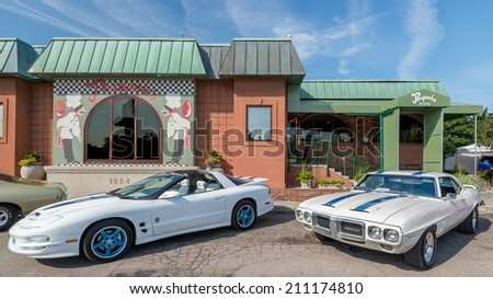 Pontiac firebird stock images royalty free images for Victory motors royal oak