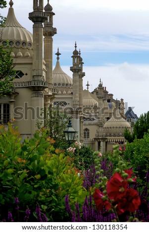 Royal Palace in Brighton, UK - stock photo
