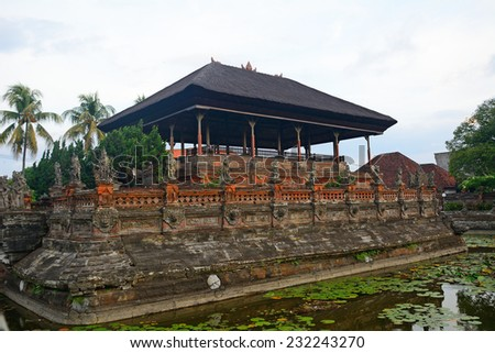 Royal palace, Klungkung, Bali, Indonesia - stock photo