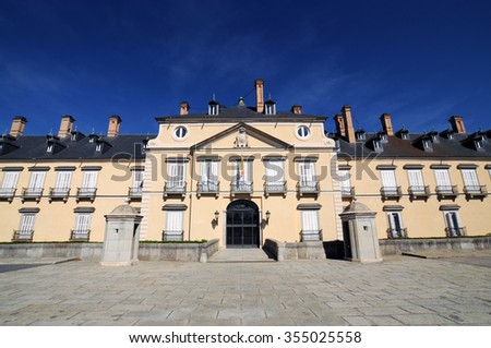 Royal Palace of El Pardo, Madrid, Spain - stock photo