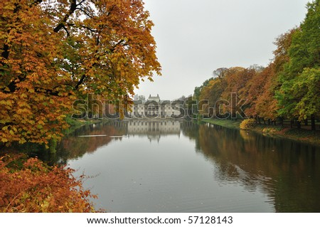 Royal Palace on the Water - Lazienki Park, Warsaw - Poland