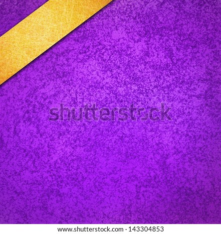 Royal Purple Background Gold Ribbon Angled Stock Illustration 143304853 - Shutterstock