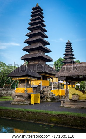Royal Temple Bali Indonesia - stock photo