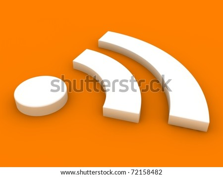 RSS Concept - stock photo