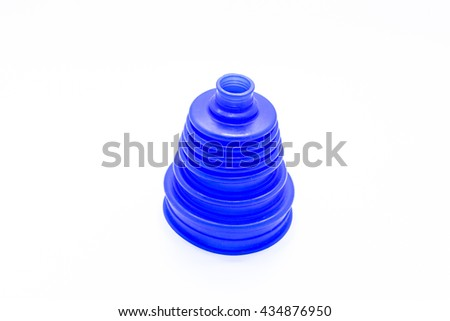 rubber drive shaft - stock photo