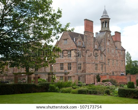 Rufford Abbey in Nottinghamshire, England, UK - stock photo