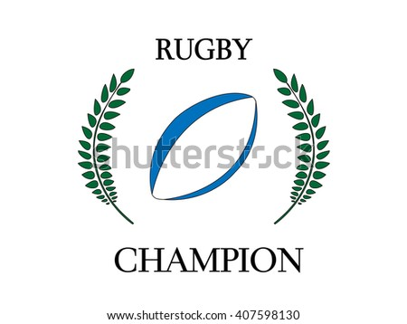 Rugby Champion 2 - stock photo