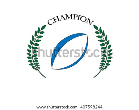 Rugby Champion 1 - stock photo