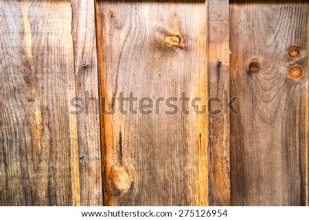Rugged wooden backdrop - stock photo