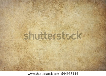 Rugged wrinkled yellow paper background