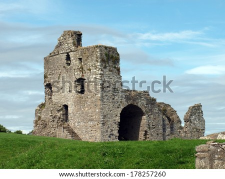 Ruin Ireland - stock photo