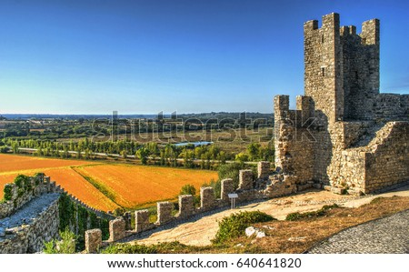Ruined castle of Montemor-o-Velho, Portugal