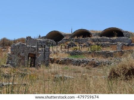 Ruins at Ancient Aptera