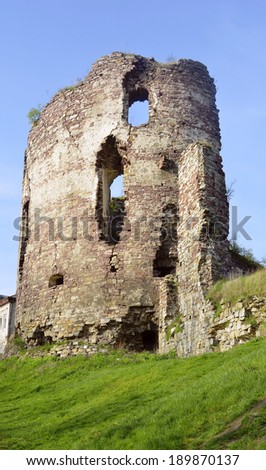 Ruins castle tower
