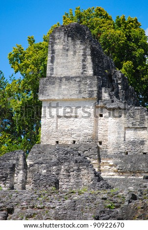 Ruins in Guatemala - stock photo