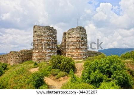 Castle Moil Kyleakin Isle Skye Scotland Fotka: 105740576 ...