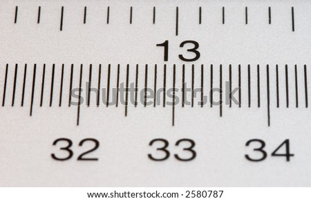 Ruler.. - stock photo