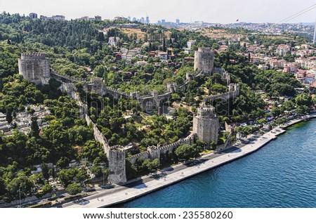 Rumeli Fortress - stock photo