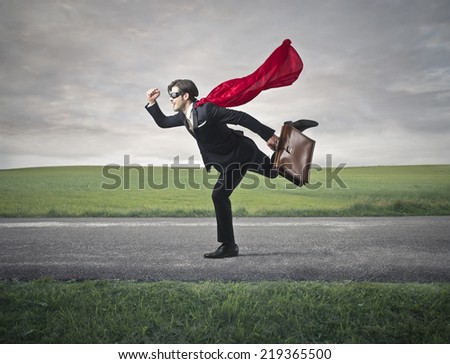 Run faster  - stock photo