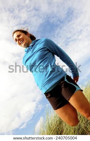 Runner - stock photo