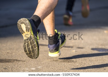 runner in a marathon competition