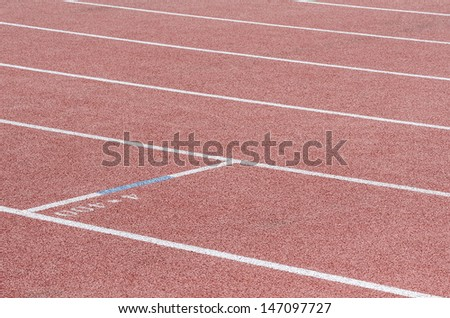 Running the line with a mark of 4x400