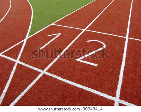 Running Track for Track&Field