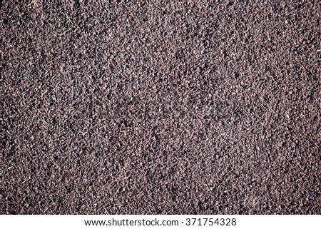 Running track rubber cover texture for background  - stock photo