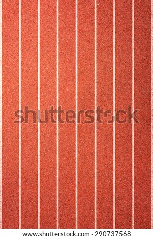 Running track texture with lane - stock photo
