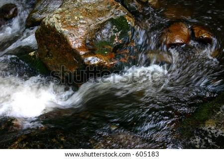Running Water - stock photo
