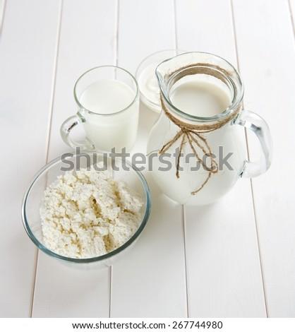 rural breakfast - stock photo