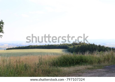 rural country scenery region