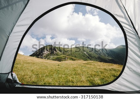 Rural European landscape - stock photo
