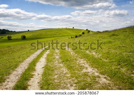 Rural Hill Landscape