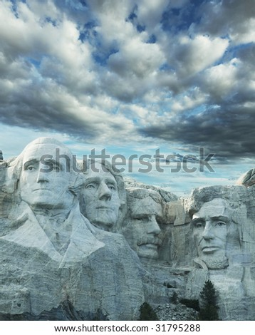 Rushmore monument - stock photo