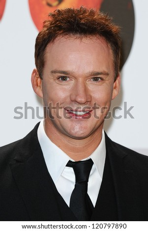 Russell Watson arriving for the Classic Brit Awards 2012 at the Royal Albert Hall, London. 02/10/2012 Picture by: Steve Vas - stock photo