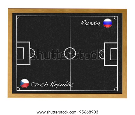 Russia-Czech Republic,Soccer 2012 European.