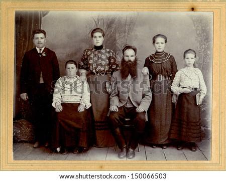 Russian Big Family