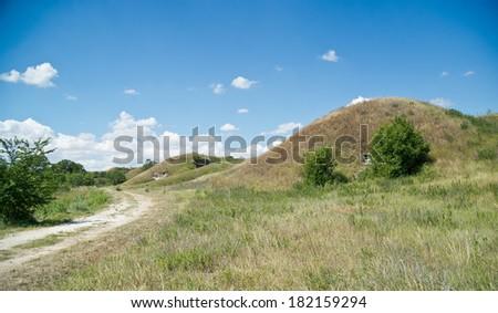 Russian military fortress.  Kerch, Crimea - stock photo