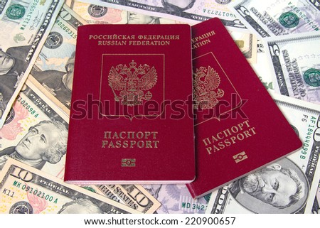 Russian passports and Dollar USA