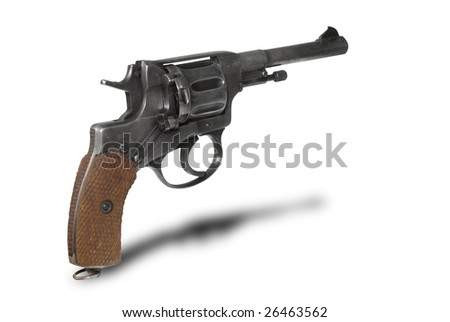 "Russian revolver ""Nagant M1895"" (example of 1913). Period of WWI"