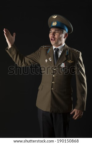russian soldier singing